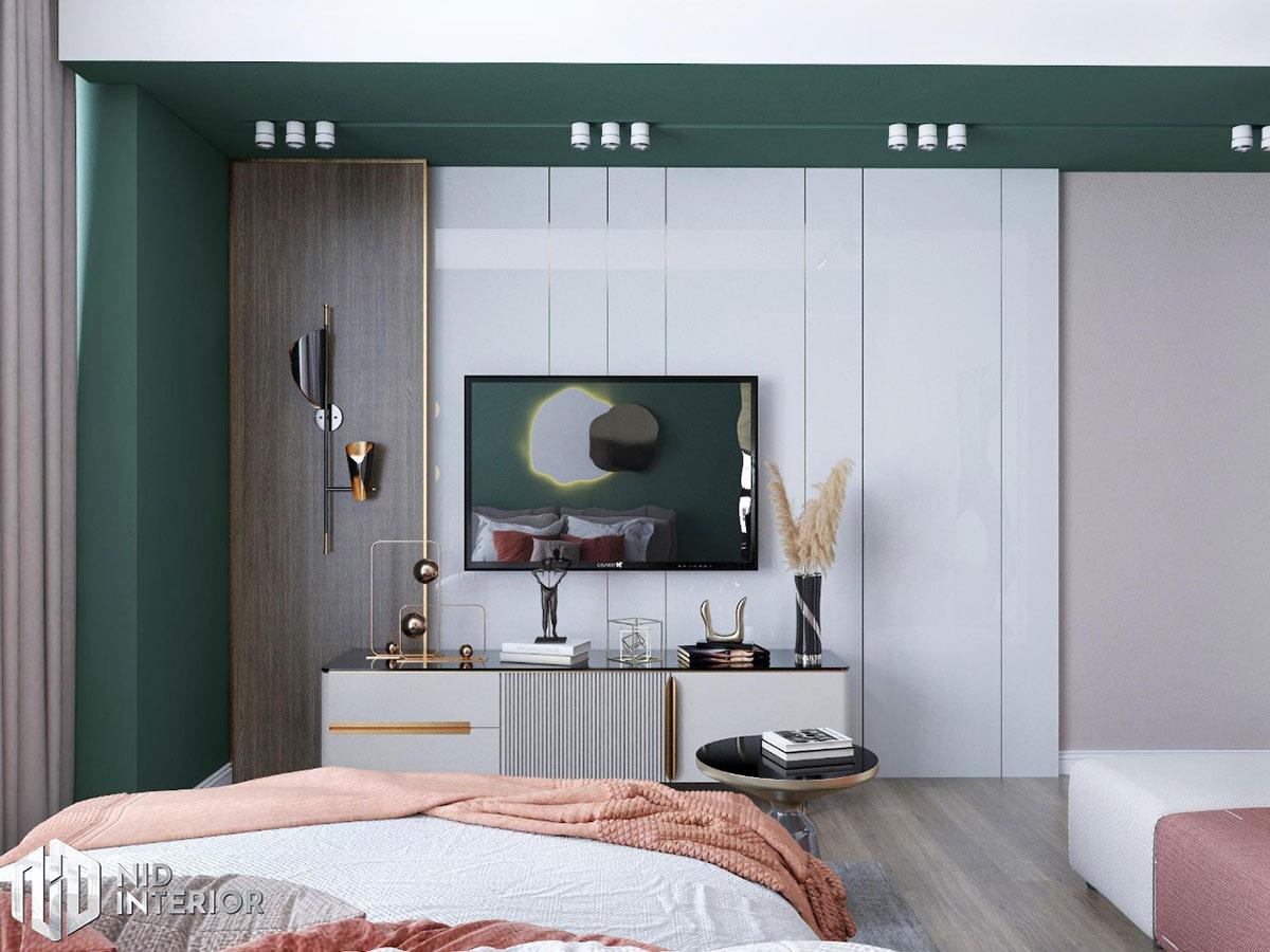 Thiết kế nội thất căn hộ Sunrise City South Towers - Phòng ngủ 3