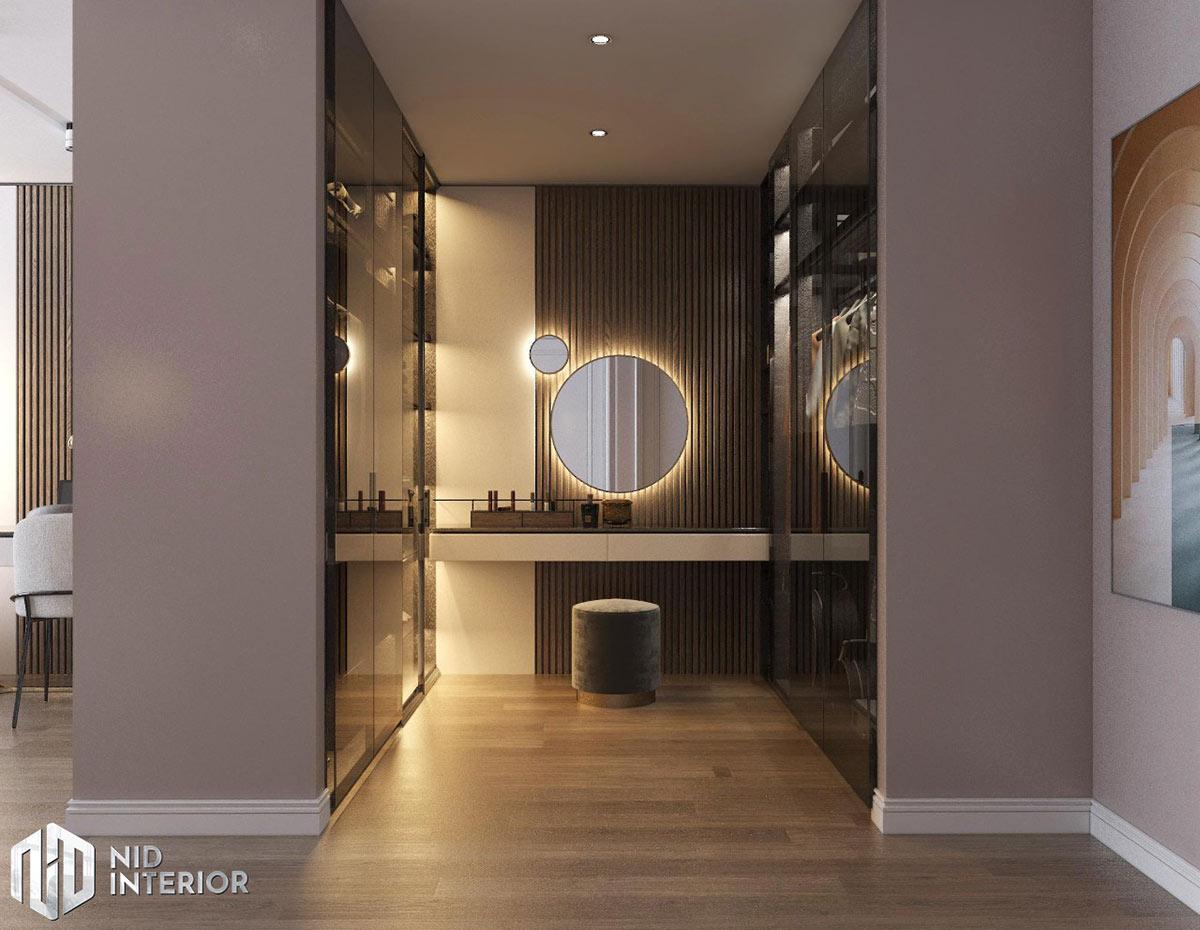 Thiết kế nội thất căn hộ Sunrise City South Towers - Phòng thay đồ