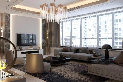 Thiết kế nội thất căn hộ Sunrise City South Towers