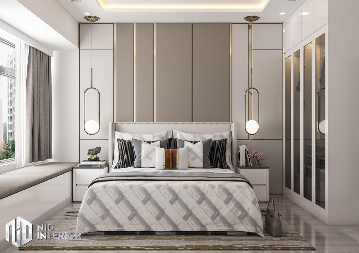 Thiết kế nội thất căn hộ The Grande Midtown - Phòng ngủ master
