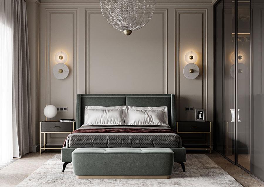Cách bố trí nội thất phòng ngủ cổ điển hợp lý nhất