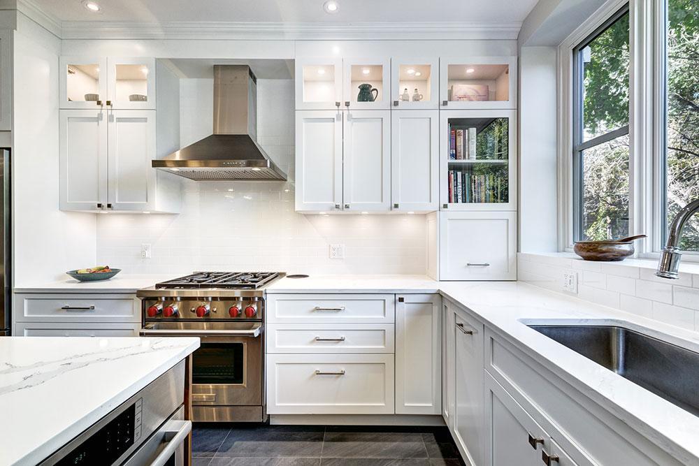 Tủ bếp đẹp giúp không gian bếp được trở nên sang trọng