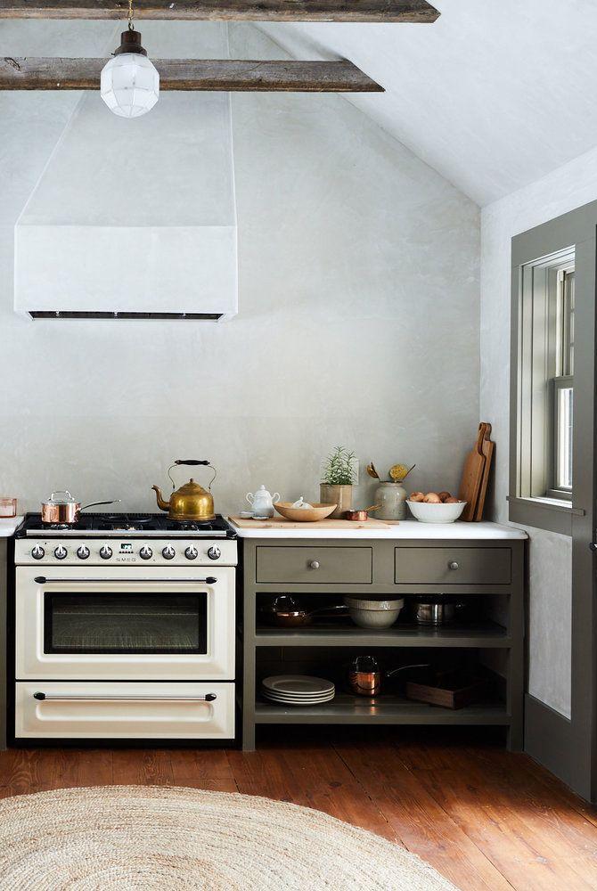 Tủ bếp đẹp mở