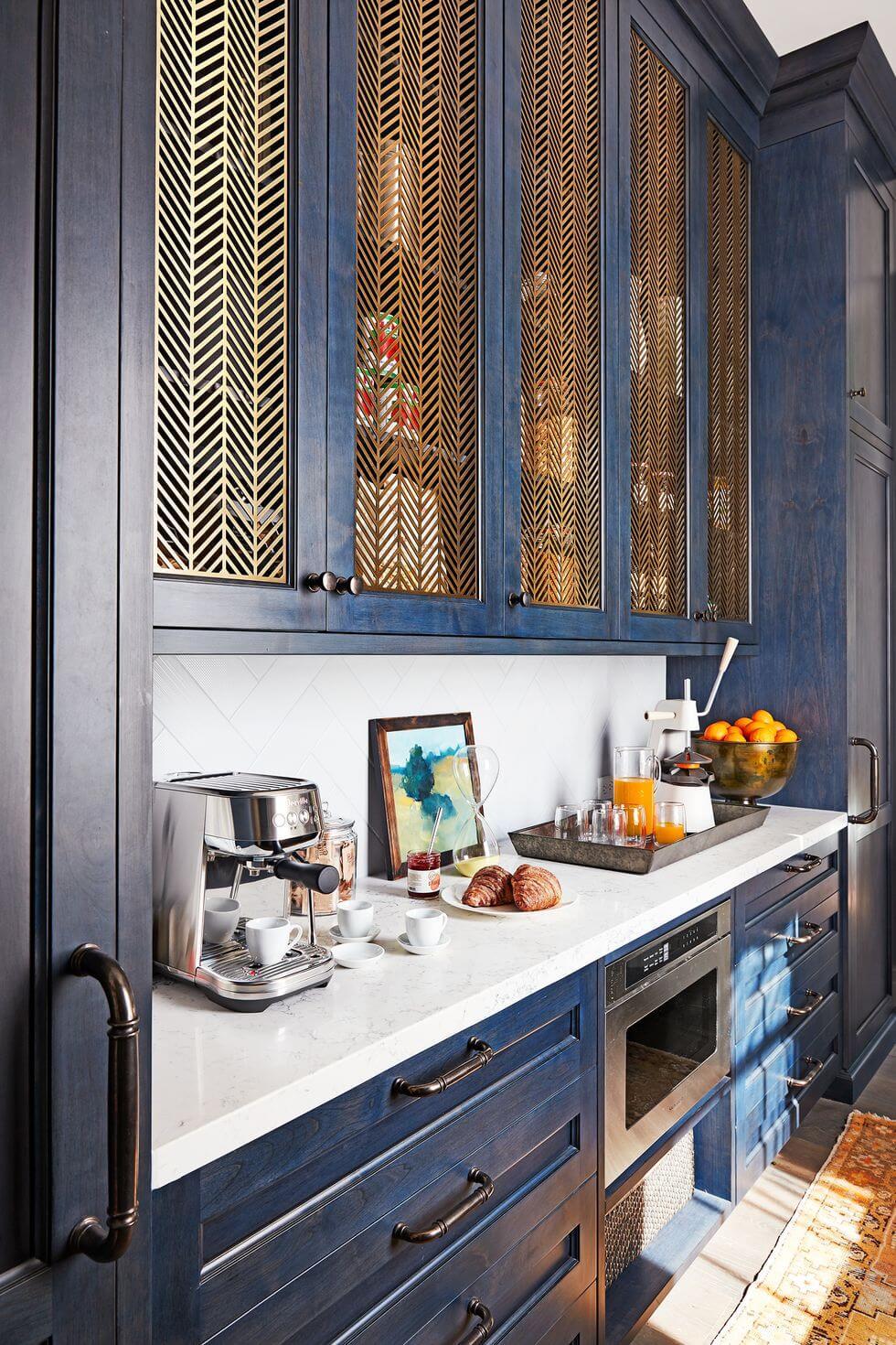 Tủ bếp đẹp bằng sắt