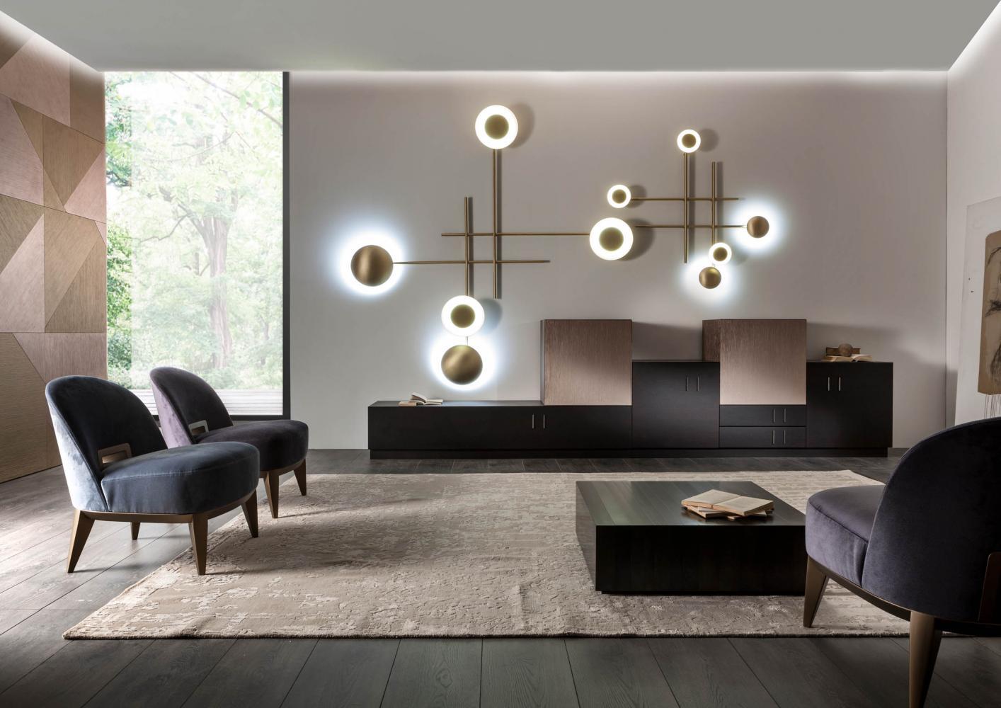 Khám phá những mẫu tủ trang trí phòng khách đẹp hiện đại