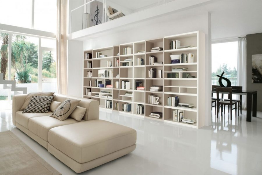 Cách sắp xếp những quyển sách trên kệ không theo bất kỳ nguyên tắc nào nhưng lại khiến tủ sách trở nên ấn tượng