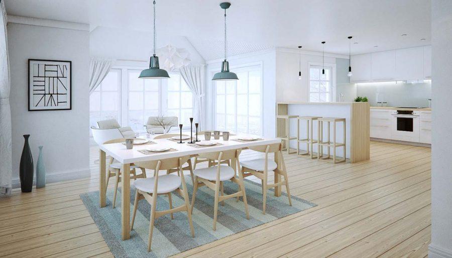 Thay vì tốn tiền sử dụng gỗ tự nhiên, tại sao bạn không thử lựa chọn bàn ăn Veneer công nghiệp này nhỉ?