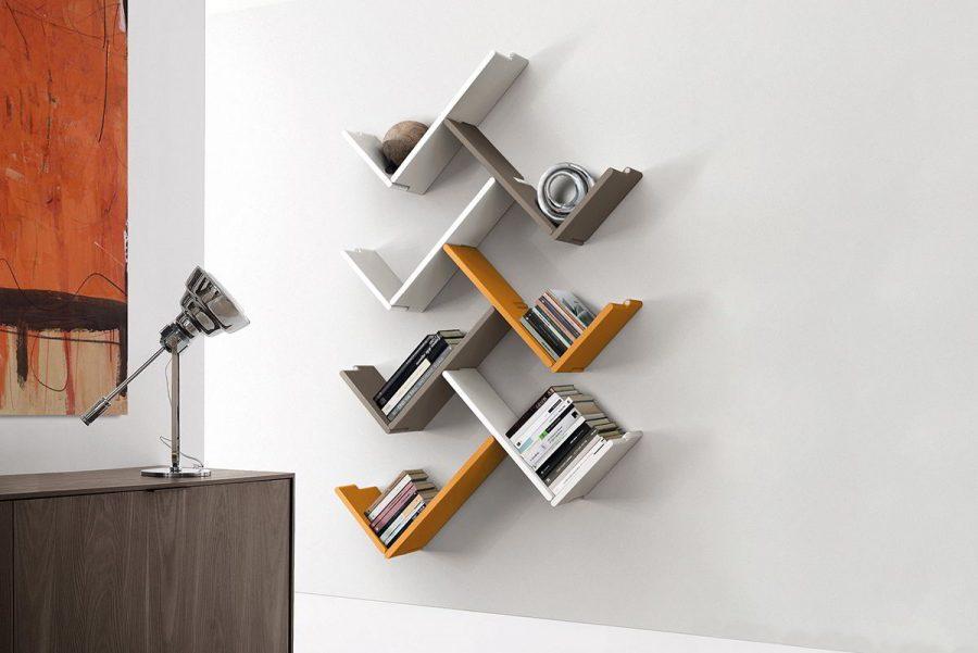 Kệ sách thông minh, sáng tạo giúp tiết kiệm diện tích cho ngôi nhà