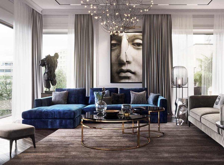 Có một số hình dạng ghế sofa khác nhau để bạn có thể dễ dàng lựa chọn