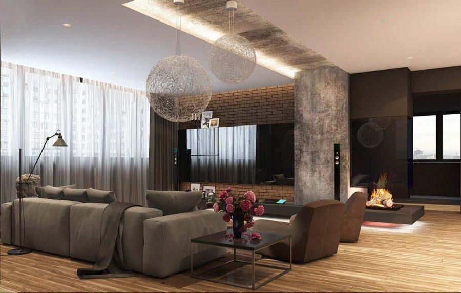 Nâng cao diện mạo phòng khách của bạn đơn giản chỉ với đèn trang trí