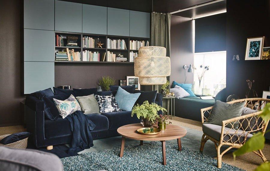 Đèn trang trí phải phù hợp với phong cách mà phòng khách đang theo đuổi