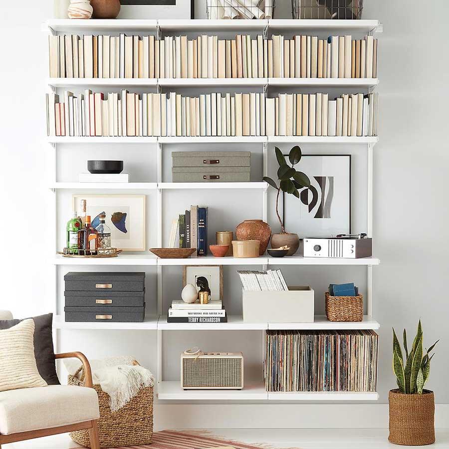 Giá sách treo tường chính là thư viện thu nhỏ trong chính ngôi nhà của bạn