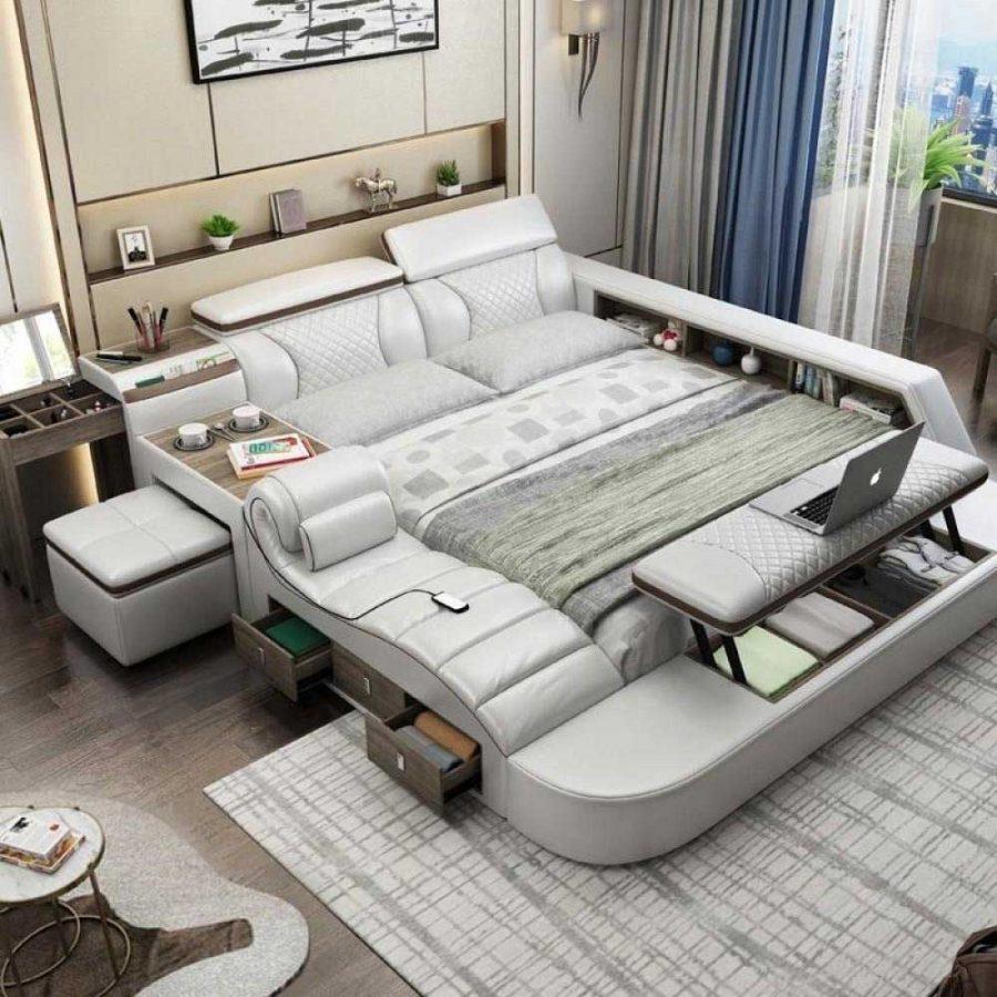 Giường thông minh mang đến sự tiện ích cho căn phòng của bạn