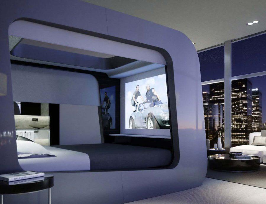 Giường HiCan là thiết kế được tích với một loạt các tính năng công nghệ cao