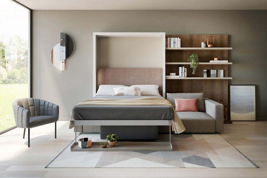 Giường kết hợp với ghế Sofa giúp tiết kiệm diện tích cho ngôi nhà của bạn