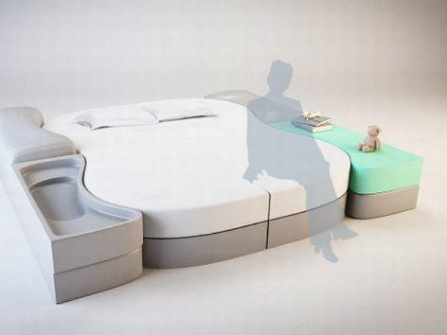Chiếc giường thông minh này có thể tùy chỉnh theo như mong muốn của bạn