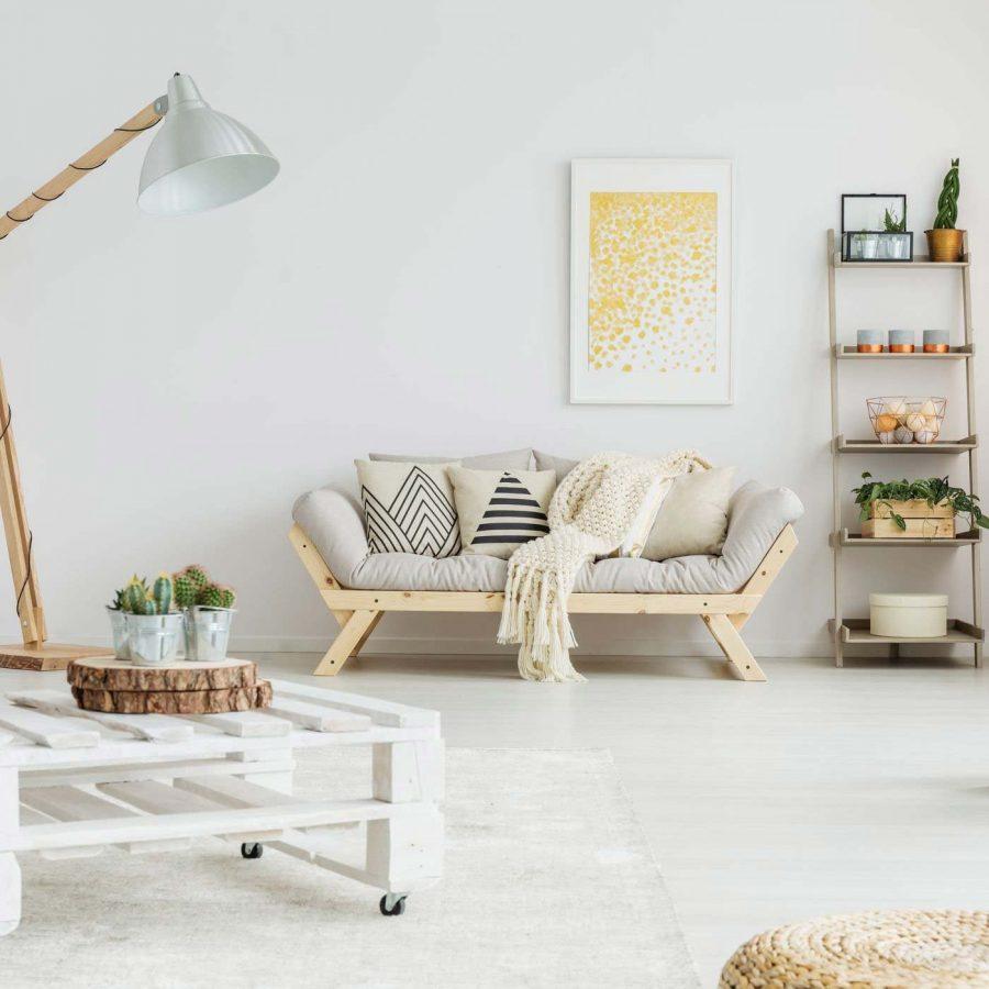Nội thất gỗ pallet đang dần tạo ra một phong trào cách mạng trong giới thiết kế nội thất.