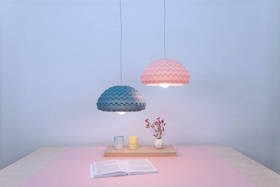 Màu sắc ngọt ngào được tỏa ra từ những chiếc bóng đèn