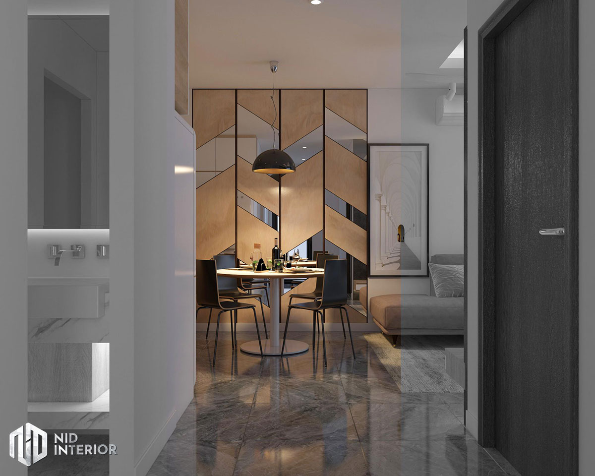Thiết kế nội thất căn hộ Vinhomes Grand Park - Bàn ăn