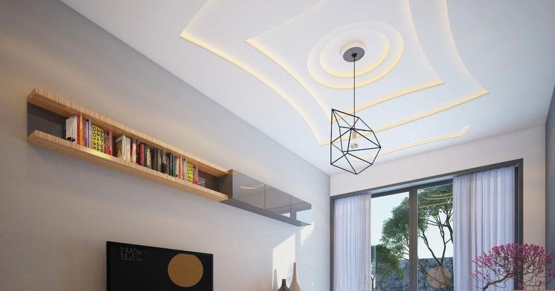 Trần thạch cao đẹp đang trở thành một xu hướng mới trong lĩnh vực thiết kế nội thất