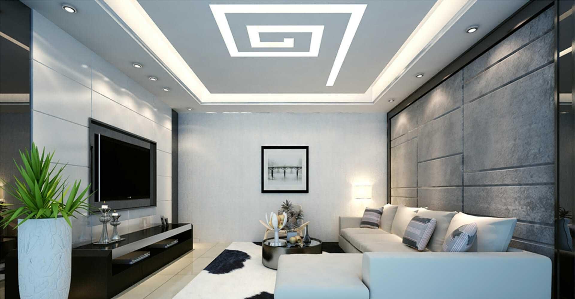 Trần thạch cao là trần nhà được làm từ tấm thạch cao