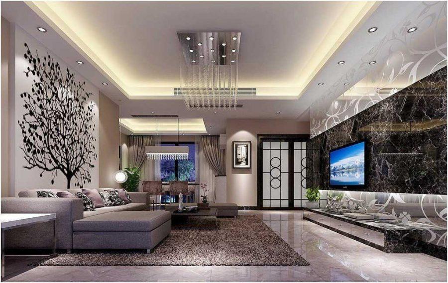 Bạn cũng cần phải đặc biệt lưu ý đến sự tương đồng giữa mẫu trần mà bạn muốn và không gian phòng khách nhà mình