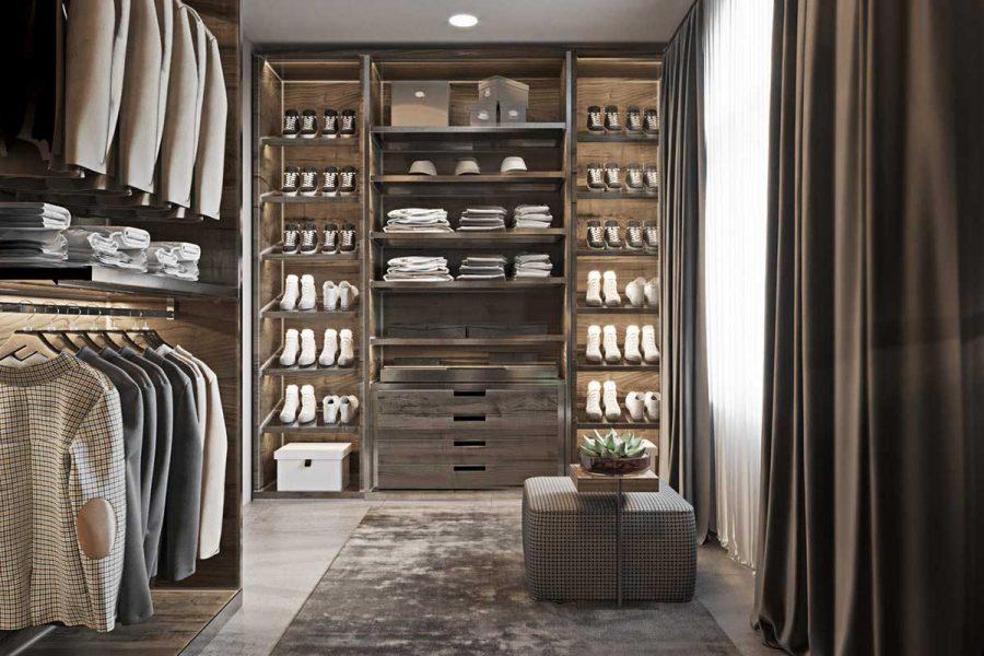 Tủ quần áo là món đồ không thể thiếu trong phòng ngủ