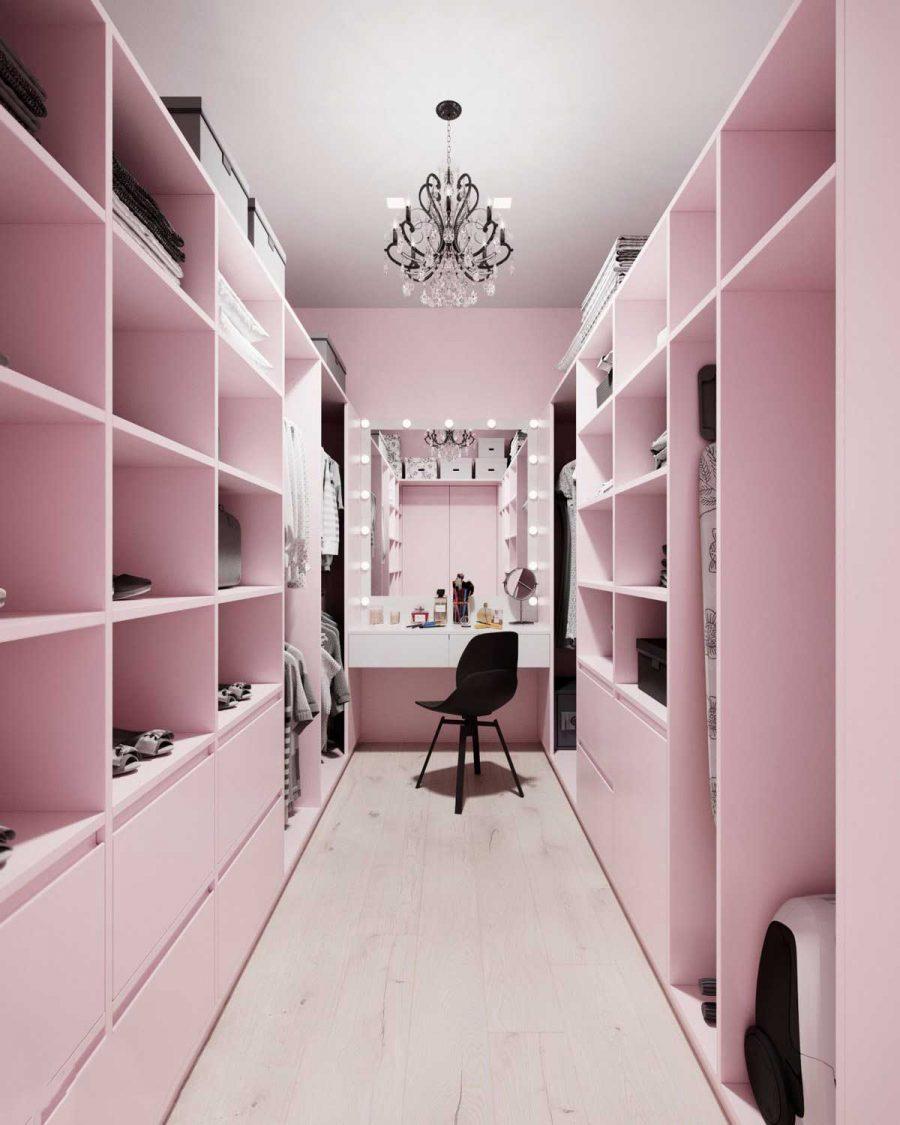 Có gì ngọt ngào hơn chiếc tủ màu hồng này không?