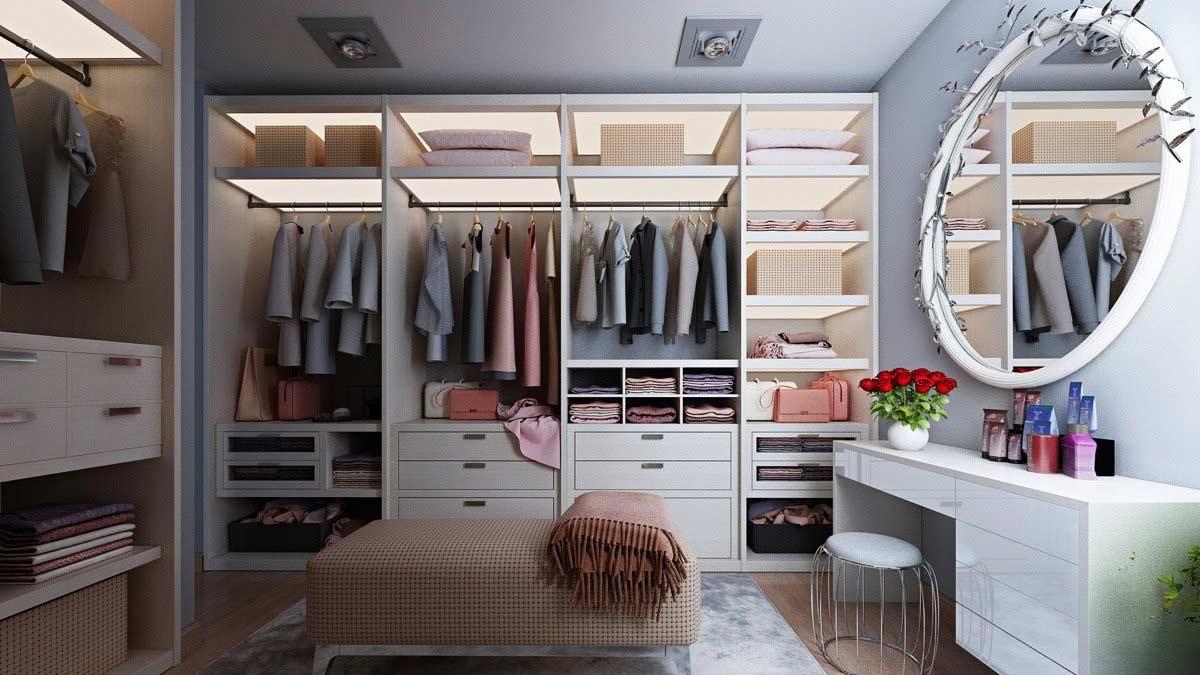 Kiểu dáng của tủ cho phòng ngủ cũng là thứ bạn cần cân nhắc