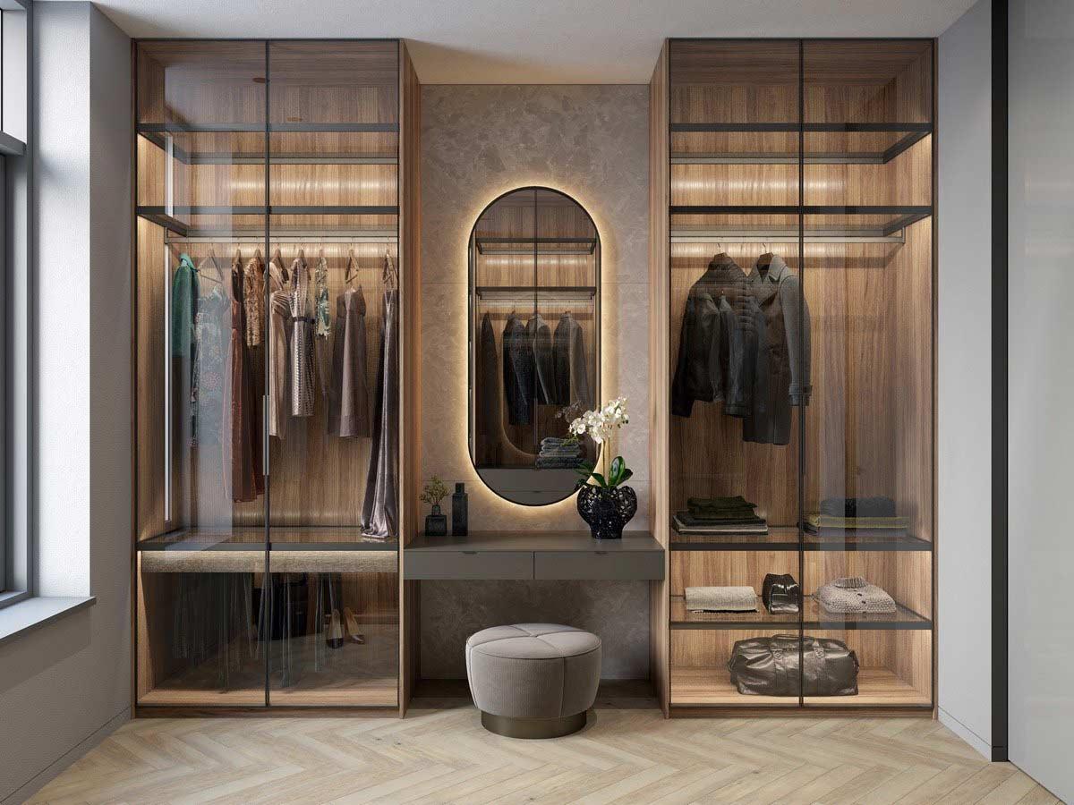 Phong cách tủ cần phù hợp với phong cách phòng ngủ