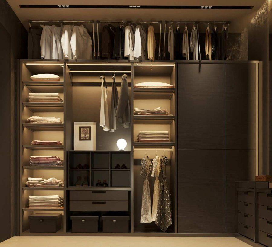 Trang trí phụ kiện cho tủ còn giúp tăng thêm giá trị thẩm mỹ cho chúng