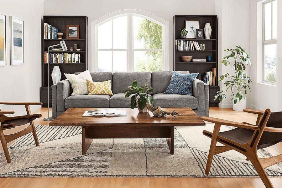 Bàn ghế gỗ là sự lựa chọn hàng đầu cho phòng khách