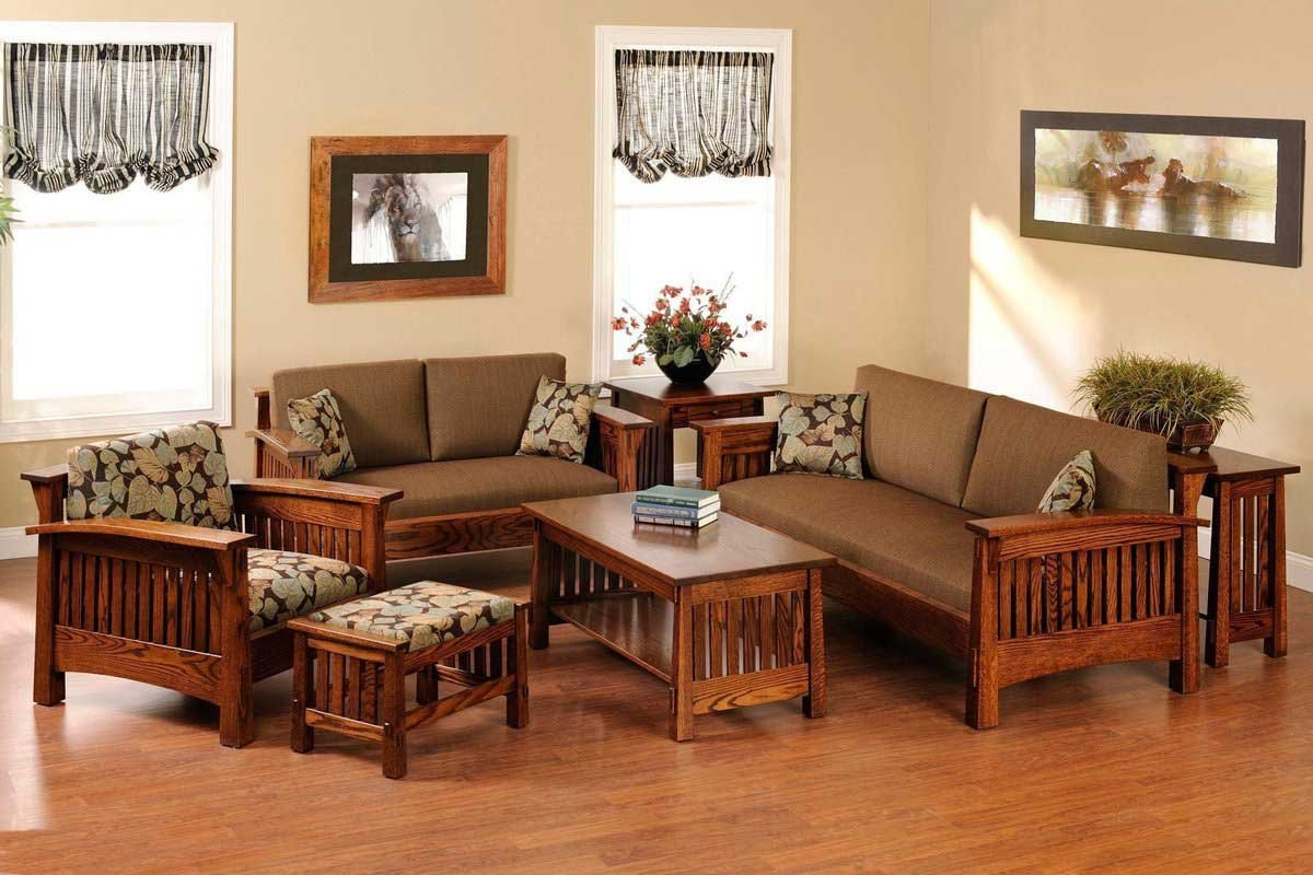 Bạn cần phải xác định diện tích phòng khách trước khi lắp đặt bàn ghế gỗ