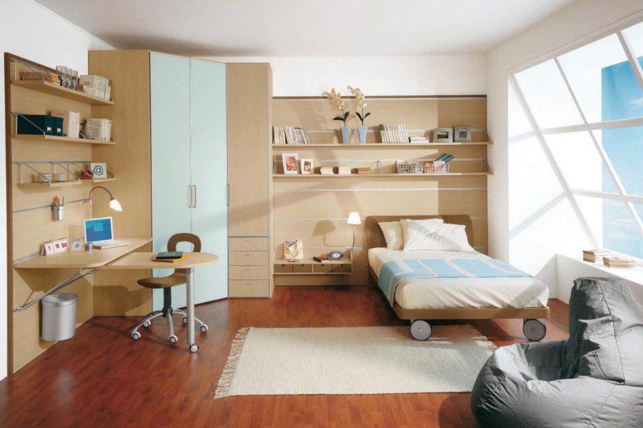 Những mẫu kệ sách gỗ trong phòng ngủ đẹp hiện nay