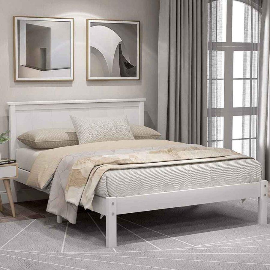 Giường cỡ lớn phù hợp cho những người yêu thích không gian cá nhân
