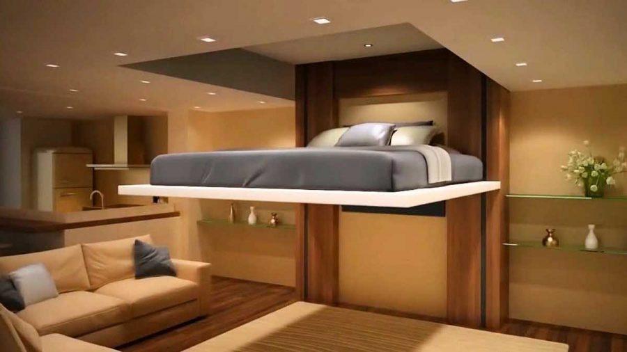 Đồ nội thất thông minh luôn được ưu tiên sử dụng trong những căn hộ có không gian nhỏ