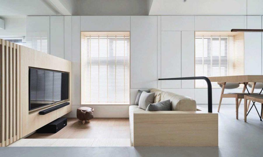 Nội thất nên chọn loại có thiết kế đơn giản và nhỏ gọn nhất