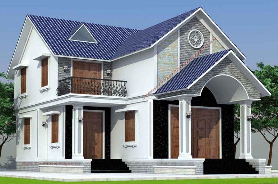 Mái thái giúp phần mái nhà có tuổi thọ cao hơn so với các loại mái khác