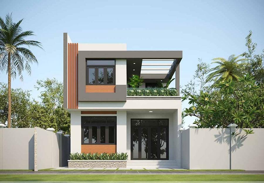 Nhà 2 tầng là thiết kế trong mơ của nhiều người