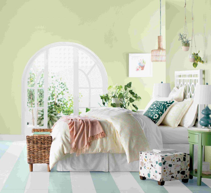 Màu sắc nhẹ nhàng giúp giấc ngủ của bạn được sâu hơn