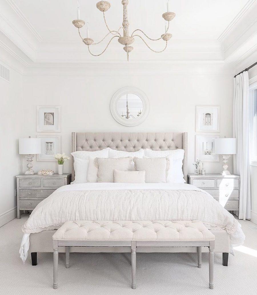 Đừng bỏ quên trần nhà khi decor phòng ngủ của mình nhé