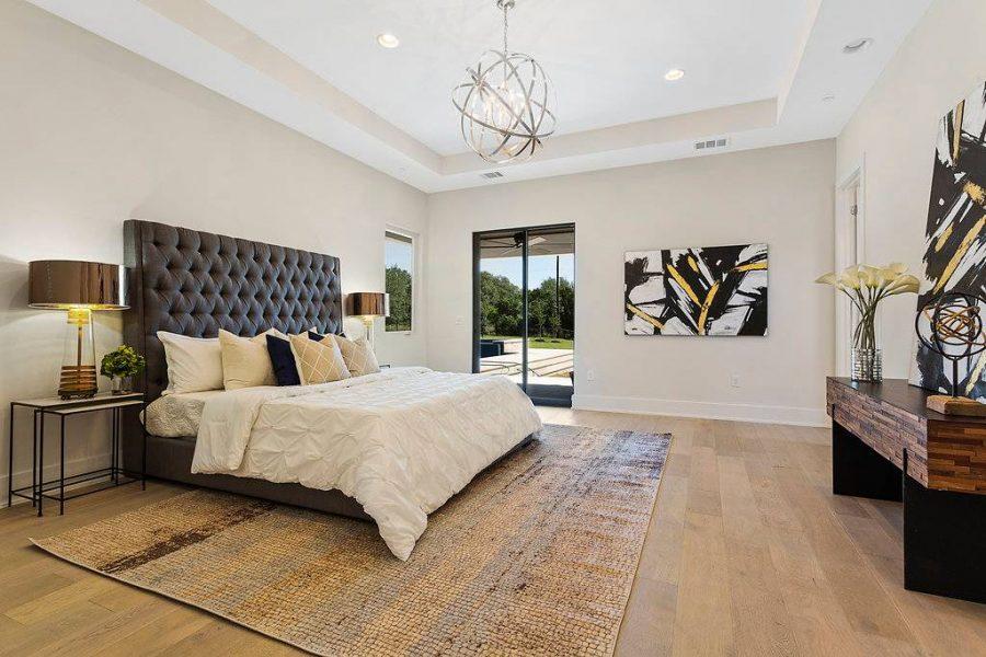 Đồ nội thất phòng ngủ cần có kích thước phù hợp với không gian