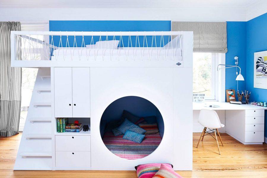 Chọn giường tầng cho bé là điều mà nhiều bậc cha mẹ hiện nay quan tâm đến