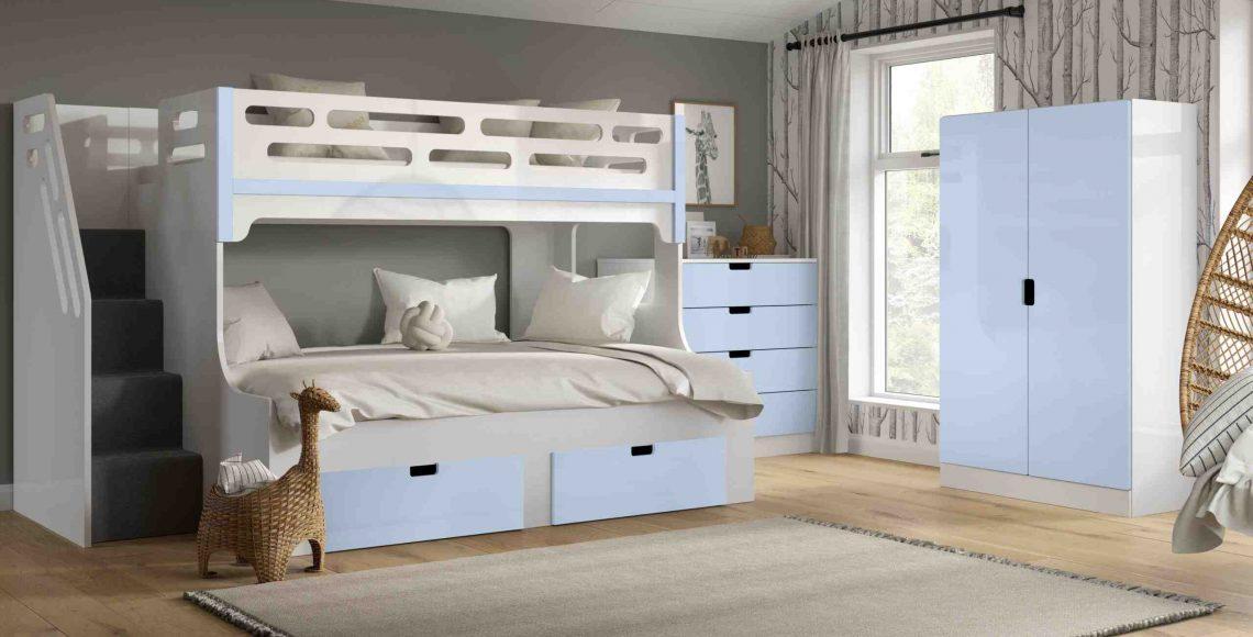 Xém xét kích thước và không gian phòng ngủ của trẻ để chọn giường tầng phù hợp