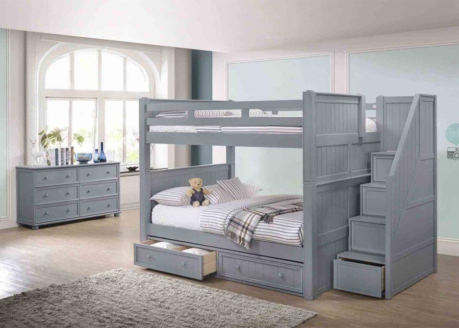 Nhiều bậc cha mẹ lo lắng khi cho trẻ sử dụng giường tầng