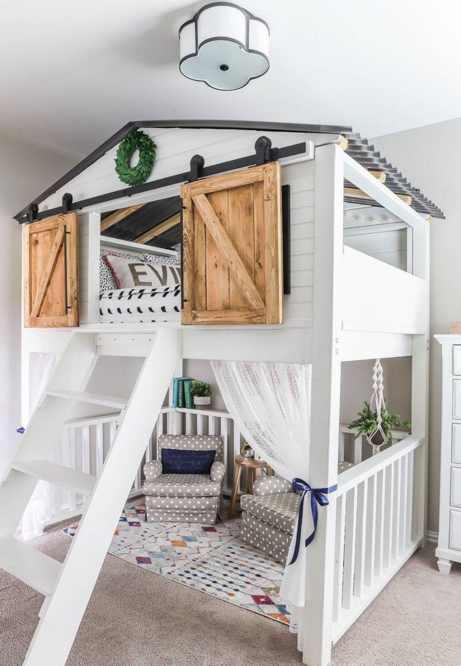 Giường tầng cho bé sẽ trở nên thú vị hơn nếu các bạn biến chúng thành những chủ đề nhất định