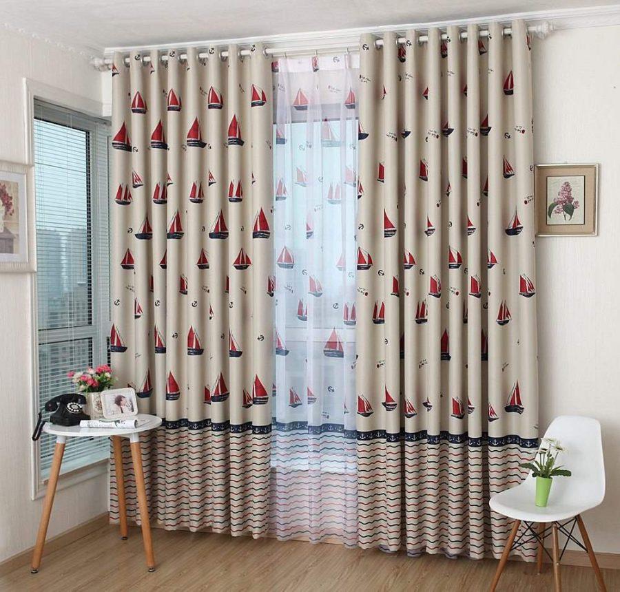 Loại vải phù hợp ảnh hưởng rất lớn đến thiết kế rèm