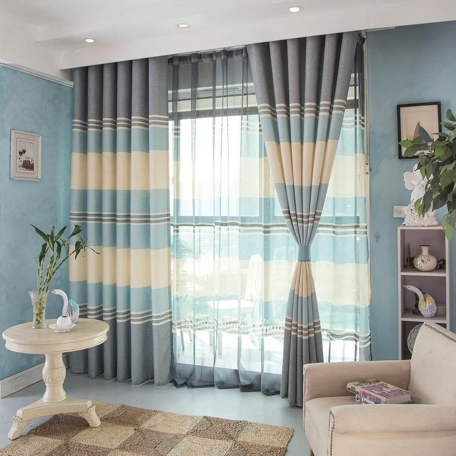 Kết hợp thêm rèm lót để bảo vệ rèm được lâu hơn