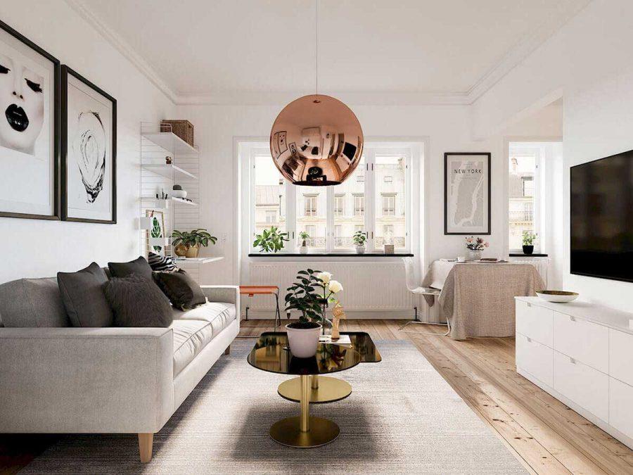 Có nhiều phong cách để chọn thiết kế căn hộ 50m2