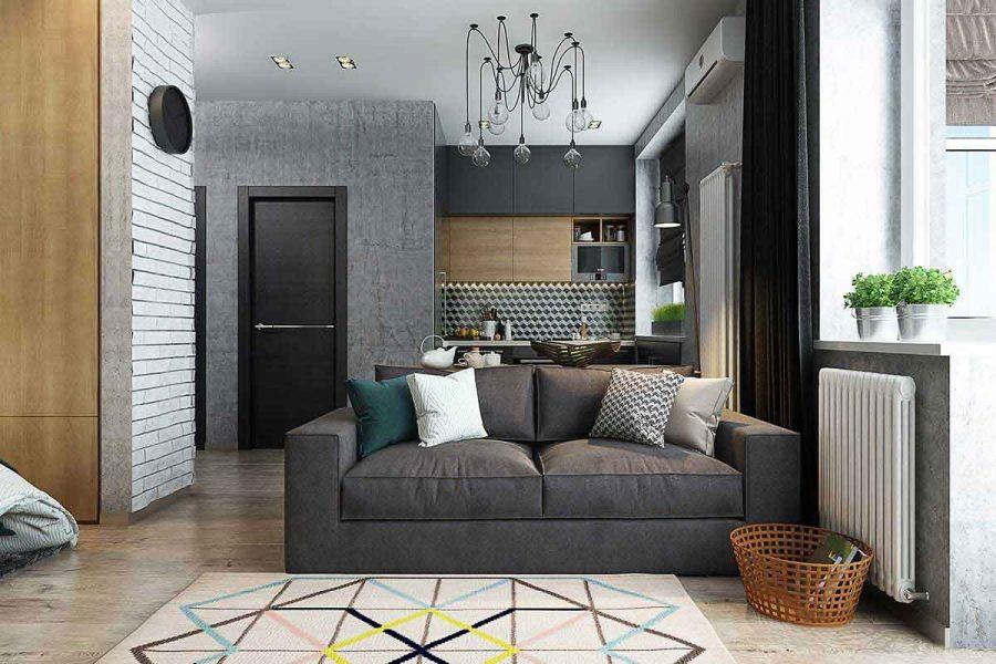 Những lưu ý khi thiết kế căn hộ 50m2 đẹp tối ưu không gian nhất